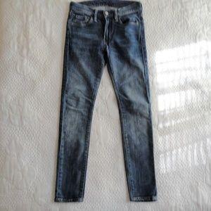 Levis 519 Skinny Jeans Stretchy 26 x 28
